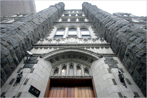 The Fortune Academy in West Harlem.