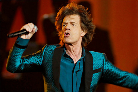 Mick Jagger Jumps In