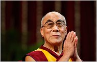 HH the Dalai Lama in the New York Times