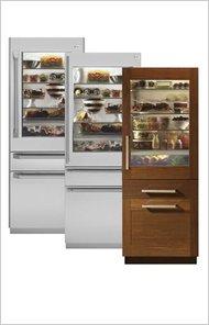 GE's first HFC-free refrigerator.