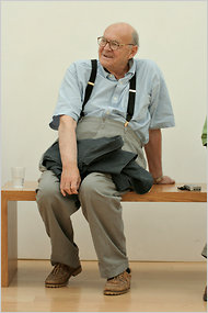Cy Twombly in 2005.