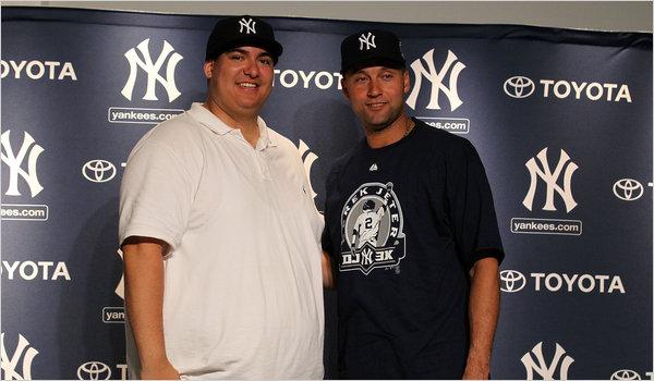 Christian Lopez and Derek Jeter