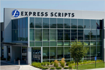 Express Scripts' headquarters in St. Louis.