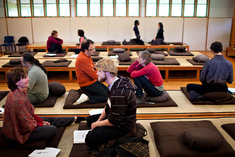 Doctors from across the world gather at the Chapin Mill Retreat Center in Batavia, N.Y. to bring intention, attention and reflection to clinical practice.