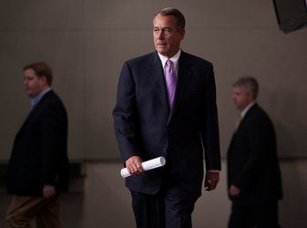 John A. Boehner, the speaker of the House, announced on Thursday that Republicans had reached an agreement on the payroll tax cut.