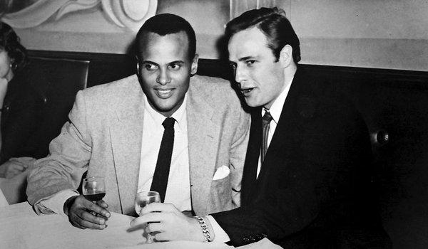 Belafonte and Marlon Brando