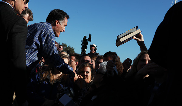 NY Times Photo of Mitt Romney