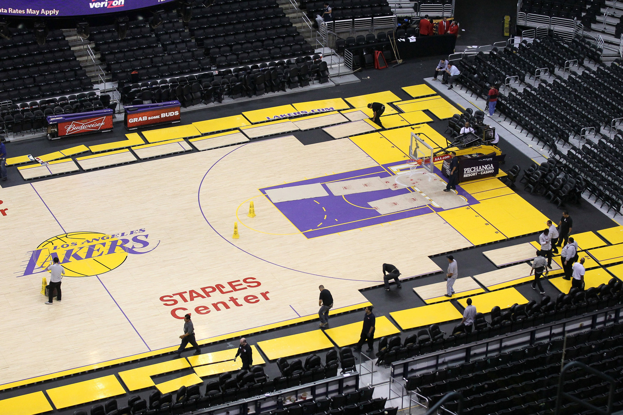 Staples Center Gets No Rest With Lakers Clippers And