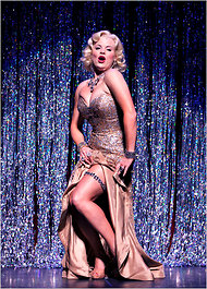 "Megan Hilty in the Encores! production of ""Gentlemen Prefer Blondes."""