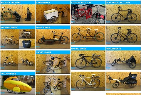 """A wide array of models are available at Copenhagen's """"bicycle library."""""""