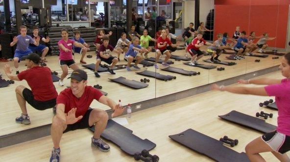Strength Training as a Family Affair - The New York Times