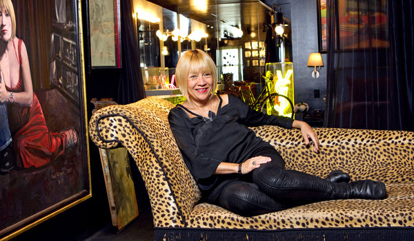 Cindy Gallop at home