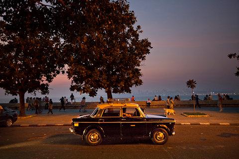 A Premier Padmini taxi in Mumbai, in this Dec. 8, 2012 file photo.