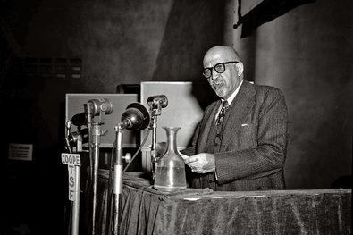 W.E.B. Du Bois, the sociologist and civil rights activist, in 1949.