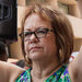Maria Elena Durazo, head of the Los Angeles County Federation of Labor, at a rally on Tuesday to thwart a sale of The Los Angeles Times to conservative billionaires.