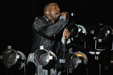 Mr. West performing at the 2013 Governor's Ball Music Festival on Randall's Island on June 9.