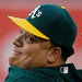 The A's saw enough velocity and movement in Bartolo Colon's pitches to re-sign him.