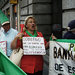 A recent protest at a Bankia office in Madrid. Many bank customers found that the