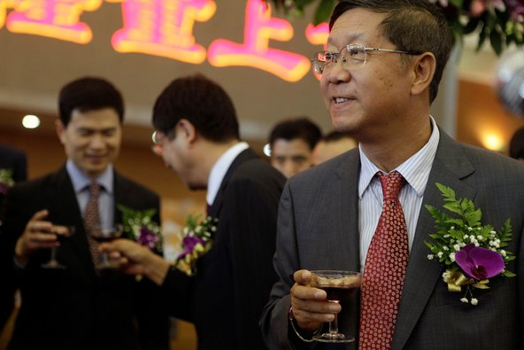 Tang Shuangning, the chairman of the China Everbright Group.