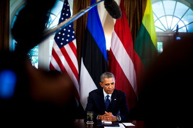 President Obama said that he had not made a final decision about Syria, but that he was not considering any military action that would require a long-term campaign or troops on the ground.