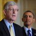Dr. Francis Collins, the director of the National Institutes of Health, with President Obama. Dr. Collins called 2013 the