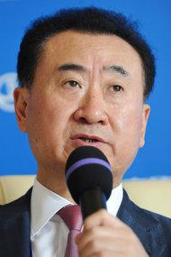 万达集团董事长王健林。