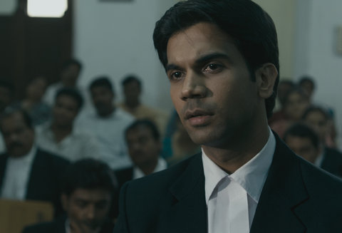 Raj Kumar Yadav in the film
