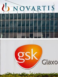 Novartis plans several deals with GlaxoSmithKline as part of its restructuring.