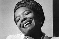 Maya Angelou in 1969, the year of her landmark memoir.