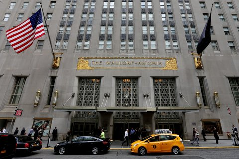 The landmark Waldorf-Astoria hotel in Manhattan is being bought by Anbang Insurance Group, a Chinese company.