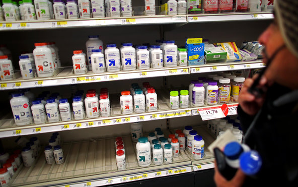 A Target in East Harlem. It and three other retailers — GNC, Walgreens and Walmart — were accused of selling fraudulent supplements.