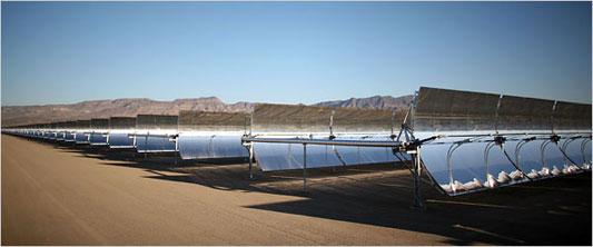 solar-thermal mirror systsm