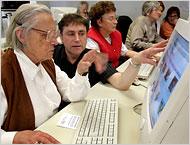 Senior citizen retraining