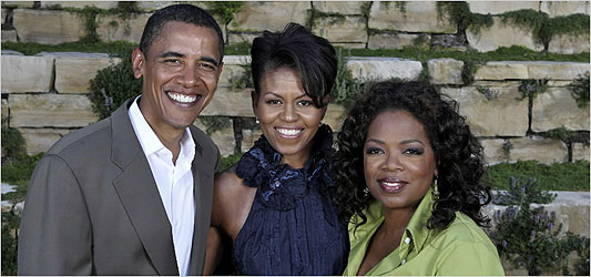 Oprah and the Obamas
