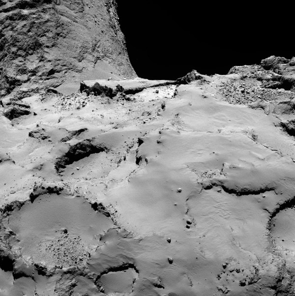 Landing on a Comet, 317 Million Miles From Home - The New ...