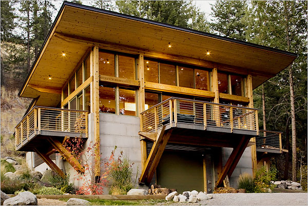 Beautiful Cabins in the Woods | Travelinyourmind\'s Weblog