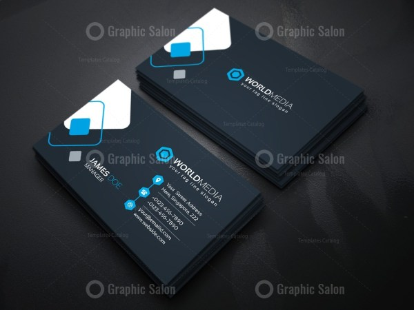 Technology company business card template graphic templates technology company business card template 09technology business card g fbccfo Choice Image