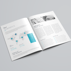 16 Pages Elegant Company Profile Template