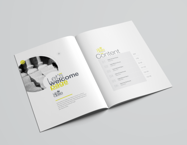 16 Pages Poseidon Professional Company Profile Template
