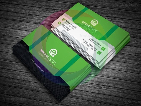 3d effect business card template graphic templates 3d effect business card template 4g wajeb Gallery