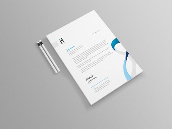 E-Commerce Stylish Professional Corporate Flyer Template