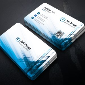 Aether Professional Corporate Business Card Template