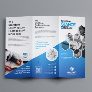 Aphrodite Business Tri-Fold Brochure Template