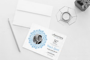 Aphrodite Elegant Wedding Invitation Template