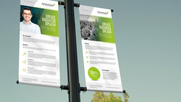Apollo Corporate Roll-Up Banner Template