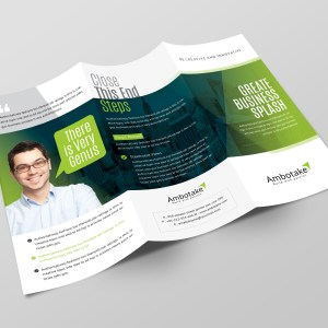 Apollo Corporate Tri-Fold Brochure Template