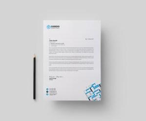 Apollo Modern Corporate Letterhead Template