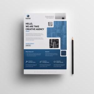 Arachne Elegant Premium Business Flyer Template