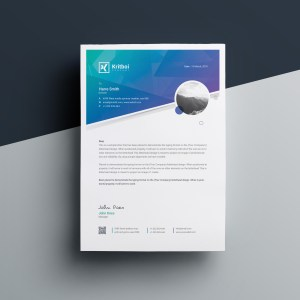 Aristaeus Professional Corporate Letterhead Template