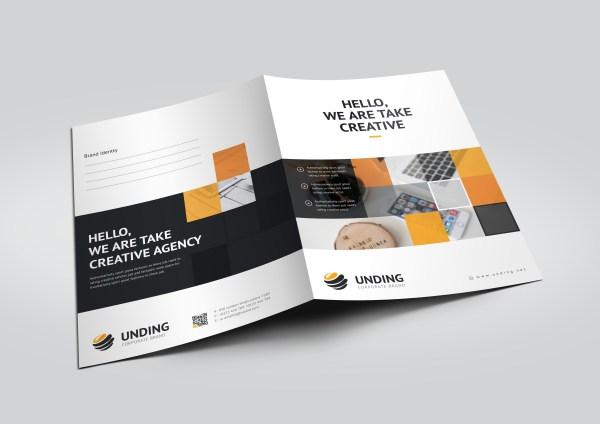 Asclepius Modern Corporate Presentation Folder Template